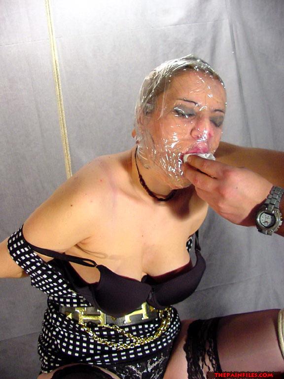 Stroking penis hentai bondage girl plastic bag cougar. thx